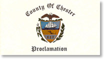 Chester County Commissioners :: Proclamation