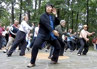 Joanne Chang :: Leading the Tai Chi Form