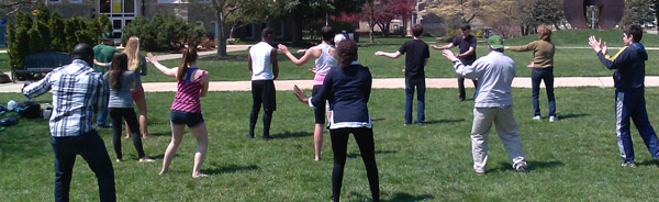 Tai Chi Arts School Celebrates World Tai Chi Day on the Quad